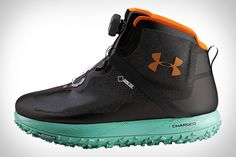 Designed for excellent traction in even the sloppiest of conditions, the Under Armour Fat Tire GTX is ready to tackle the worst mother nature has to offer. It starts with the Wild Gripper outsole, which was inspired by mountain bike...