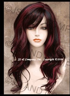 hair color- brown/red....Love this....would be great for Fall.....k8