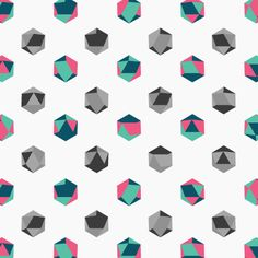 #Polygon #Generative Identity for Florian Stephens: Patterned Image