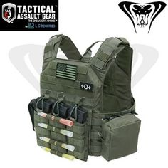 TAG Tactical Assault Gear Banshee Plate Carrier for $135.00