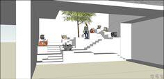 벤치마킹실겸 로비/방철린/칸종합건축사사무소(주)/Design for the bench-marking room as a lobby by Bang Chulrin/Architect Group CAAN
