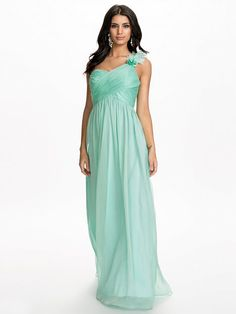 NLY Wrap Over Maxi Dress Mint color. Got this!
