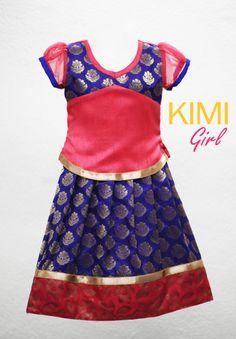 25 Ideas Sewing For Kids Girls Toddlers Link For 2019 Baby Girl Lehenga, Kids Lehenga, Indian Lehenga, Lehenga Choli, Frocks For Girls, Kids Frocks, Kids Dress Wear, Kids Wear, Baby Girl Dresses