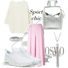 Sport chic. Spring on my heart.