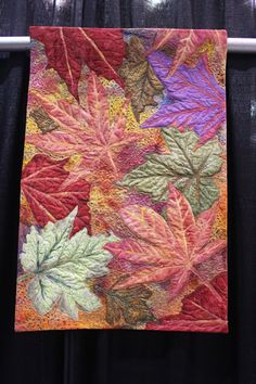 Tales from The Raspberry Rabbits: Scenes from the Mid Atlantic Quilt Festival Quilting Projects, Quilting Designs, Applique Designs, Landscape Art Quilts, Watercolor Landscape, Landscape Paintings, Flower Quilts, Fall Quilts, Tree Quilt
