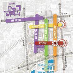 Gallery of TechTown District Plan / Sasaki Associates - 20