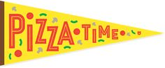 Pizza in the morning, Pizza in the evenin', Pizza at suppertime! When pizza's on a pennant, You can have pizza anytime!