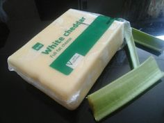 Cheese and celery fingers are the best just cut some cheese and eat it with the celery and your good to go