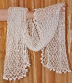 Crochet Airy Lacer Shawl
