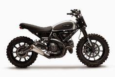 Ducati Scrambler Dirt Track Concept, prototipo desde Tailandia                                                                                                                                                                                 Más