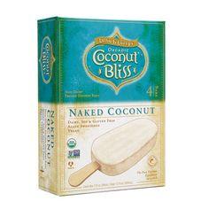 Luna and Larry's Organic Coconut Bliss Naked Coconut Non-Dairy Frozen Dessert Bars #icecream #healthy #dessert http://greatist.com/eat/best-ice-cream-frozen-desserts