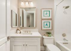 Bathroom lighting is Murray Feiss VS19703-PN Concord 3 Light Vanity Strip, Polished Nickel – $160 each.
