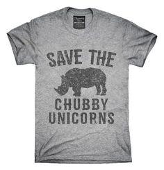 Save The Chubby Unicorns Rhino T-shirts, Hoodies,