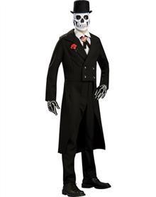 Skeleton Groom Grand Heritage Mens Costume