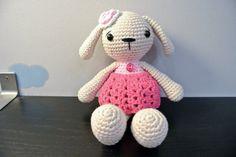 Crochet Bunny Amigurumi Handmade Crochet Amigurumi Toy Doll