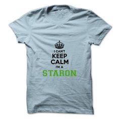 I Love I cant keep calm Im a Staron T shirts