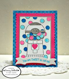 Created by Nance Salkeld for Paper Sweeties January Release Party 2016