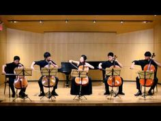 Prayer of Being, Hayes. 5 Cellos. - YouTube