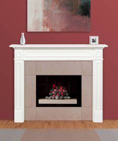 Shop Pearl Mantels Mike Mantel Shelf - - MDF - White at Lowe's Canada online store. Find Fireplace Mantels at lowest price guarantee. White Fireplace Mantels, Fireplace Mantel Surrounds, Mantel Shelf, Fireplace Remodel, Fireplace Inserts, Fireplace Mantle, Fireplace Ideas, Mantle Ideas, Concrete Fireplace