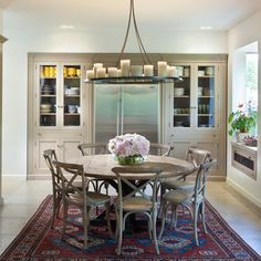 Restoration Hardware Round Table Design Ideas, Pictures, Remodel, and Decor - page 2