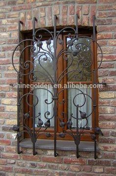 Gyd- 15wg009ウィンドウ装飾的な鉄のグリルの価格 - m.japanese.alibaba.comでのドア、窓関連製品からのドア、窓用格子内。