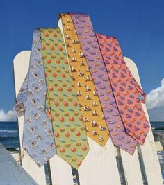 sewing pattern for ties