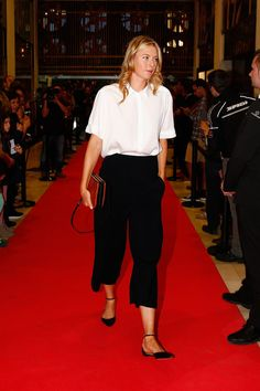 Mutua Madrid Open - Day Two - Maria Sharapova of Russia arrives at the players party during day two of the Mutua Madrid Open tennis tournament at the Caja Magica on May 3, 2015 in Madrid, Spain.