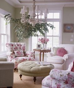 one day I will have a room just for me, and I'll be able to fill it with pink florals