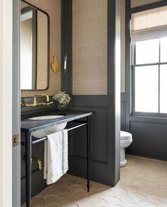 Interior Exterior, Bathroom Interior Design, Bathroom Styling, Living Colors, Architecture Restaurant, Up House, Custom Cabinetry, Interiores Design, Bathroom Inspiration