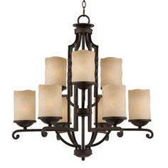 Shop for Granada Blacksmith Bronze Chandelier. Get free delivery On EVERYTHING* Overstock - Your Online Ceiling Lighting Store! Bronze Chandelier, Candle Chandelier, Chandelier Lighting, Light Texture, Glass Texture, Granada, Holmes On Homes, Lighting Store, Glass Candle