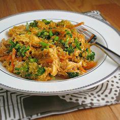 Buffalo Chicken Quinoa Salad | Alidas Kitchen