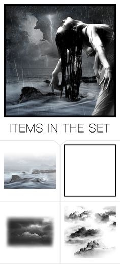 """We believe it to be blessed rain"" by nocturnal-lunacy ❤ liked on Polyvore featuring art"