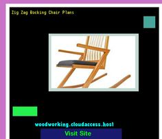 Zig Zag Rocking Chair Plans 081720 - Woodworking Plans and Projects!