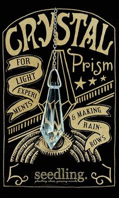 Crystal Prism - For light experiments and making rainbows!