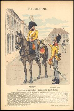 Knotel - Uniformenkunde Knotel prusse - Les costumes militaires -