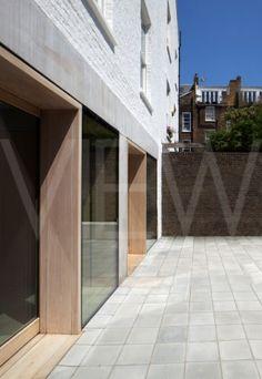Cohen House London United Kingdom Architect Duggan Morris Architects Ltd 2012 Looking along the new