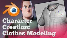 Character Clothes Modeling Timelapse - BlenderNation Source by AbieLadyHulk clothes ideas Blender 3d, Blender Models, Character Creation, 3d Character, Character Concept, Zbrush, Blender Character Modeling, Blender Tutorial, Video Game Development