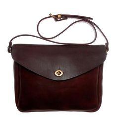 Mimi Frank - medium sized hard leather shoulder bag. 265£ --- ohhh poor me again--- *_*
