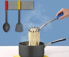 Lego Kitchen Utensils - these will get my grandson cooking....