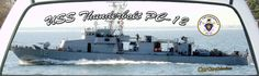USS Thunderbolt is a US Navy Patrol Boat assigned to patrol our coast line to protect us.