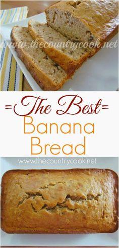 The Best Banana Bread recipe.