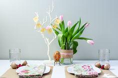 Design Studio Challenge: My Easter Tablescape | Third Floor Design Studio