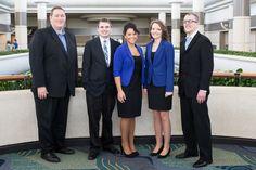 Wichita State University team and adviser: Mike Ross, Travis Richardson, Julica Bonsall, Sarah Willey & Boomer Jenkins