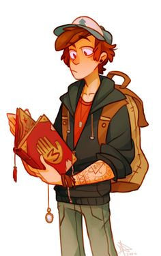 Older!Dipper by life-writer on Tumblr.