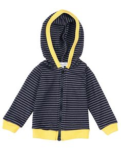 Splendid Official Store, Thermal Stripe Zip Hoodie, shadow, Littles : Baby : Boy : Tops, SKB2697