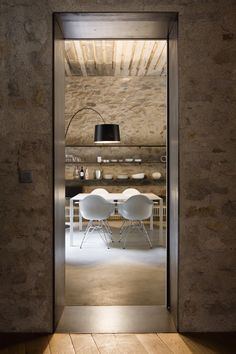 Medieval Building Turned Into Contemporary Living Spaceby Architect  Anna Noguera