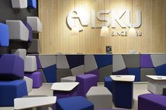 Isku Office Furniture, Conference Room, Interior, Euro, Table, Lighting, Home Decor, Offices, Hon Office Furniture