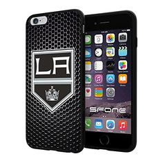 """Los Angeles Kings Black Iron Net #1573 iPhone 6 Plus (5.5"""") I6+ Case Protection Scratch Proof Soft Case Cover Protector SURIYAN http://www.amazon.com/dp/B00X494A3M/ref=cm_sw_r_pi_dp_vdtxvb0CDKNEY"""