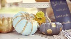 秋ウエディングなら、手作りカボチャでハロウィーンチックな結婚式♡