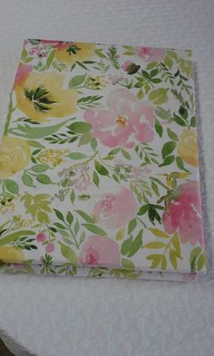 Cynthia Rowley Cotton White Pink grn Yel Floral Tablecloth round NEW Floral Tablecloth, Cynthia Rowley, The 100, Prints, Cotton, Ebay, Beautiful, Printed, Art Print